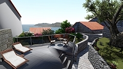 Werner : 2 maisons avec 1 piscine
