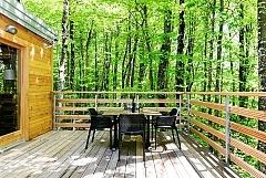 2 Cabanes dans les bois